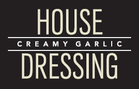 Mrs. Mitchell's Creamy Garlic House Dressing